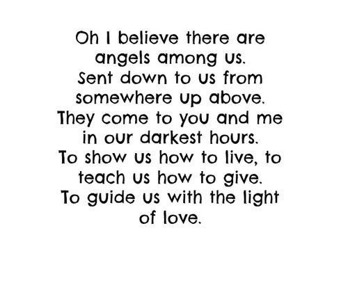 Angels Among Us - Alabama - Lyric Video - YouTube