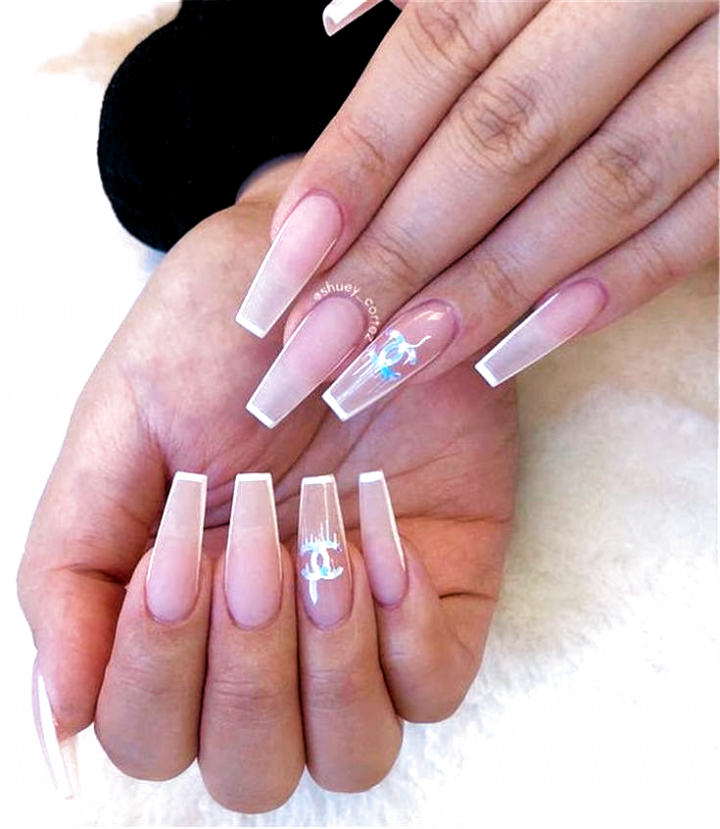 Coffin Nails Simple