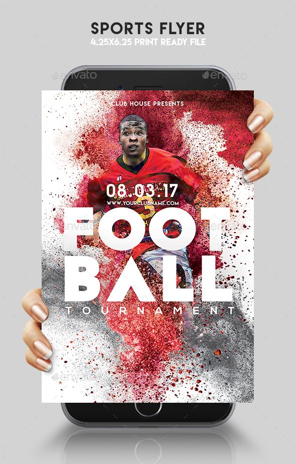 Sports Flyer  Flyer Template Event Flyers And Font Logo