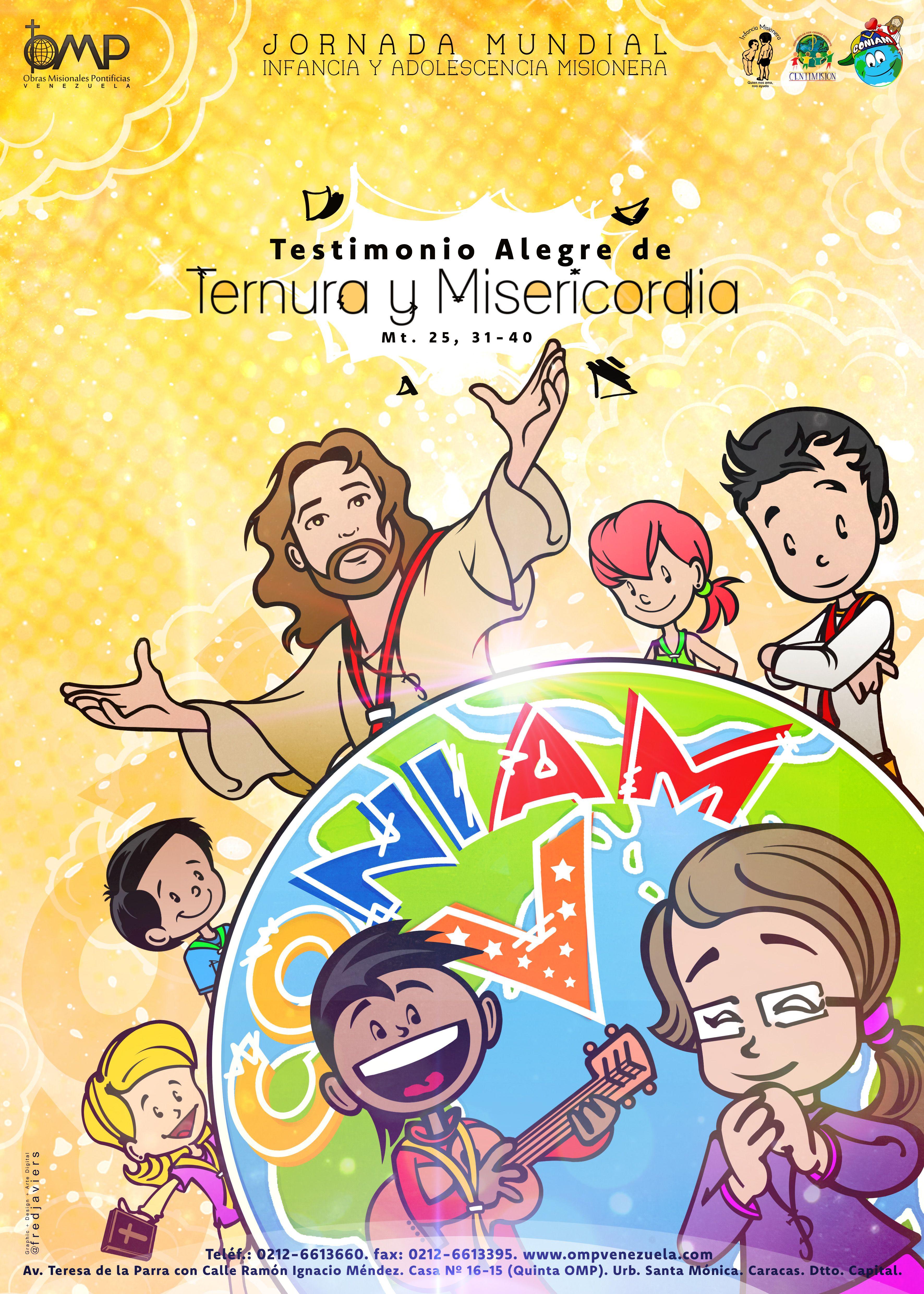 Obras Misionales Pontificias en Venezuela - Jornada 2016 | Infancia ...