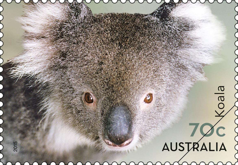 Favourite stamp issue of 2015 - Australia Post | Koala ...