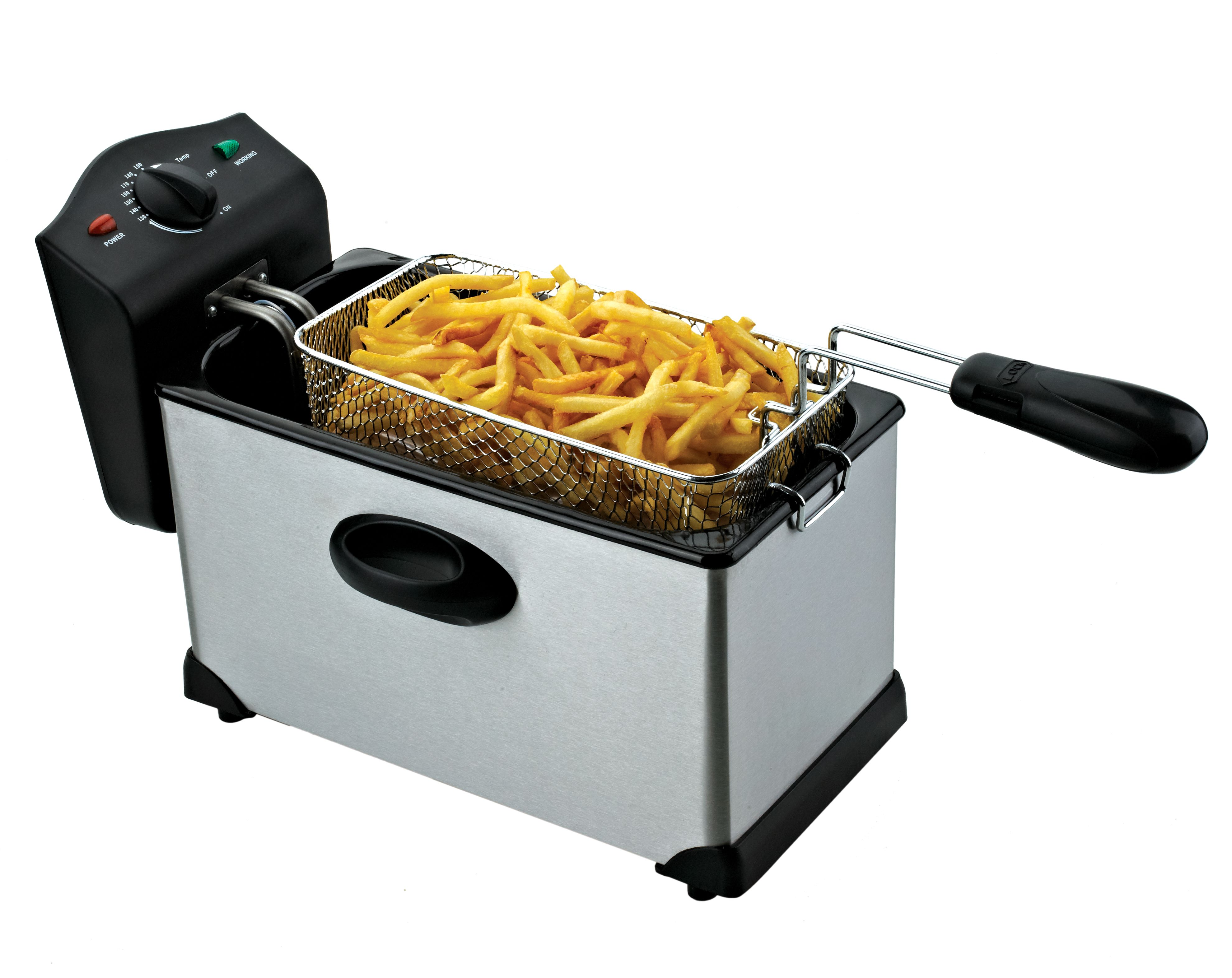 our chard 3l electric deep fryer has mercial grade deep frying