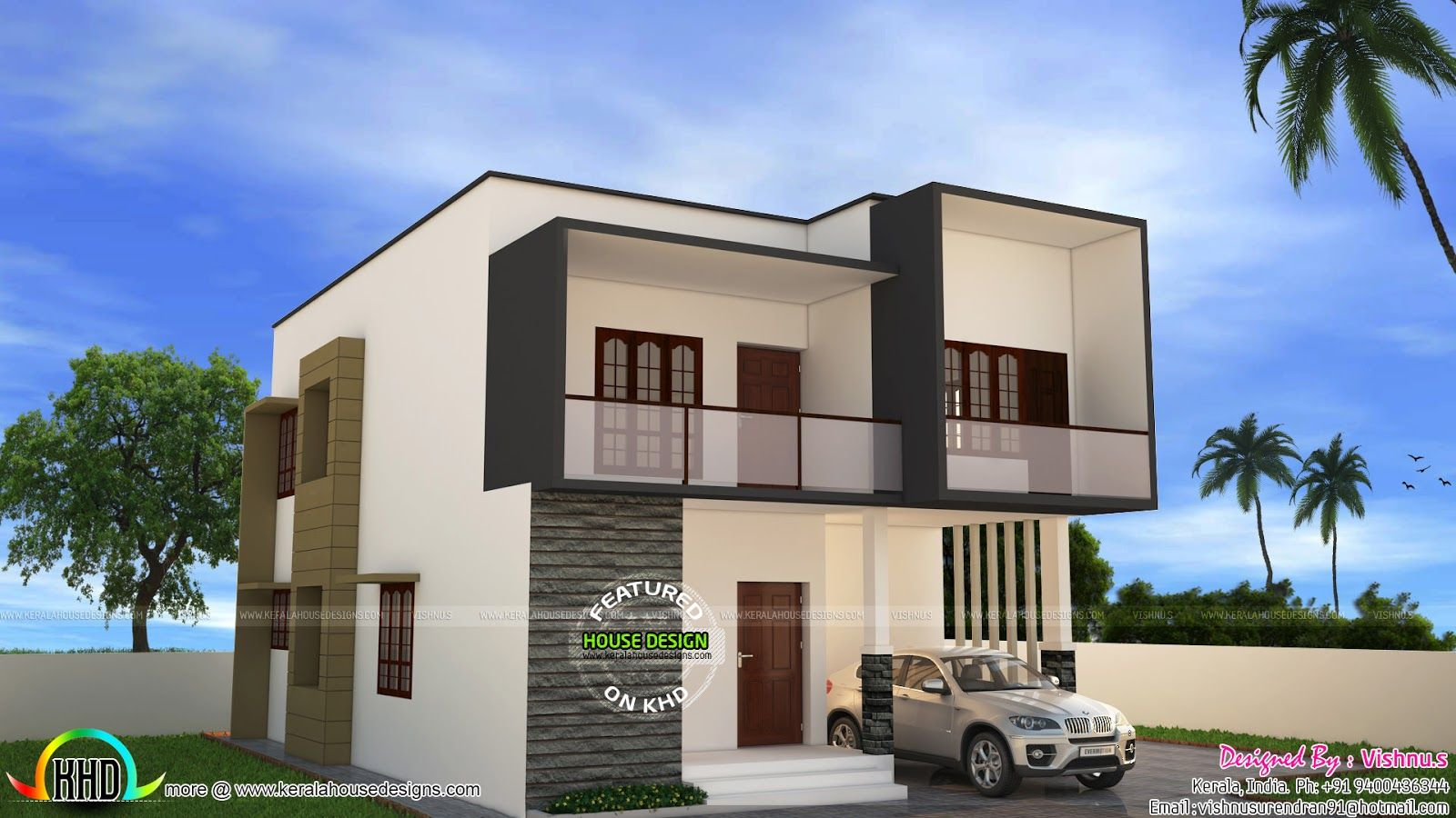 Indian Simple House Designs Double Floor - valoblogi com
