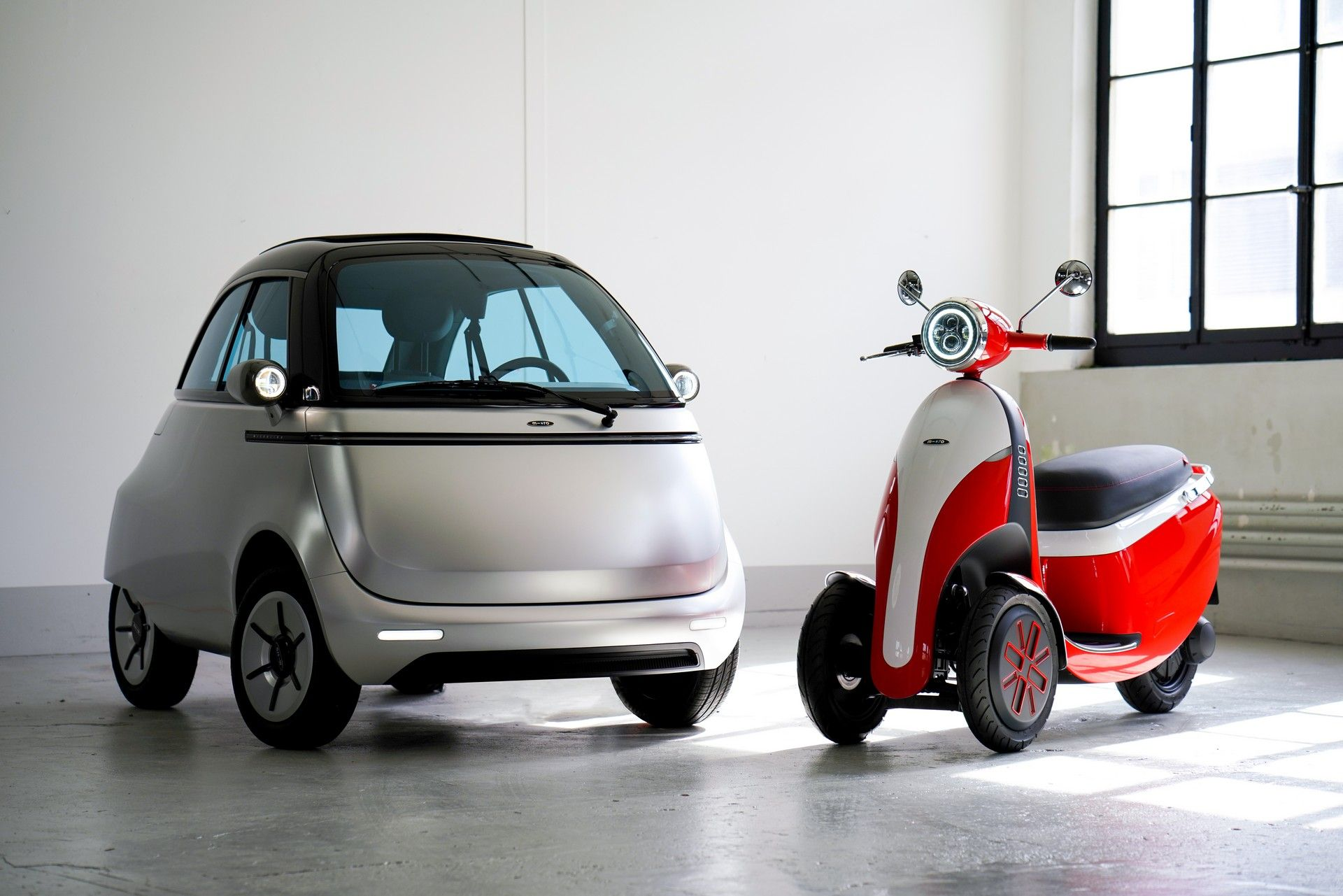 The Microlino 2.0 Is A Cute, Electric Bubble Car With Up