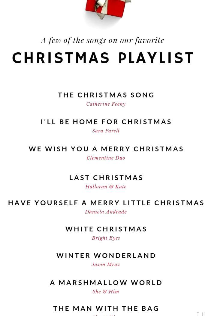 A few beautiful Christmas songs on our go-to holiday music playlist Love these sweet versions of some of our favorite classic Christmas songs! #christmas #thatgiftgame #christmasparty #playlist #xmas #holidayparty #giftexchange