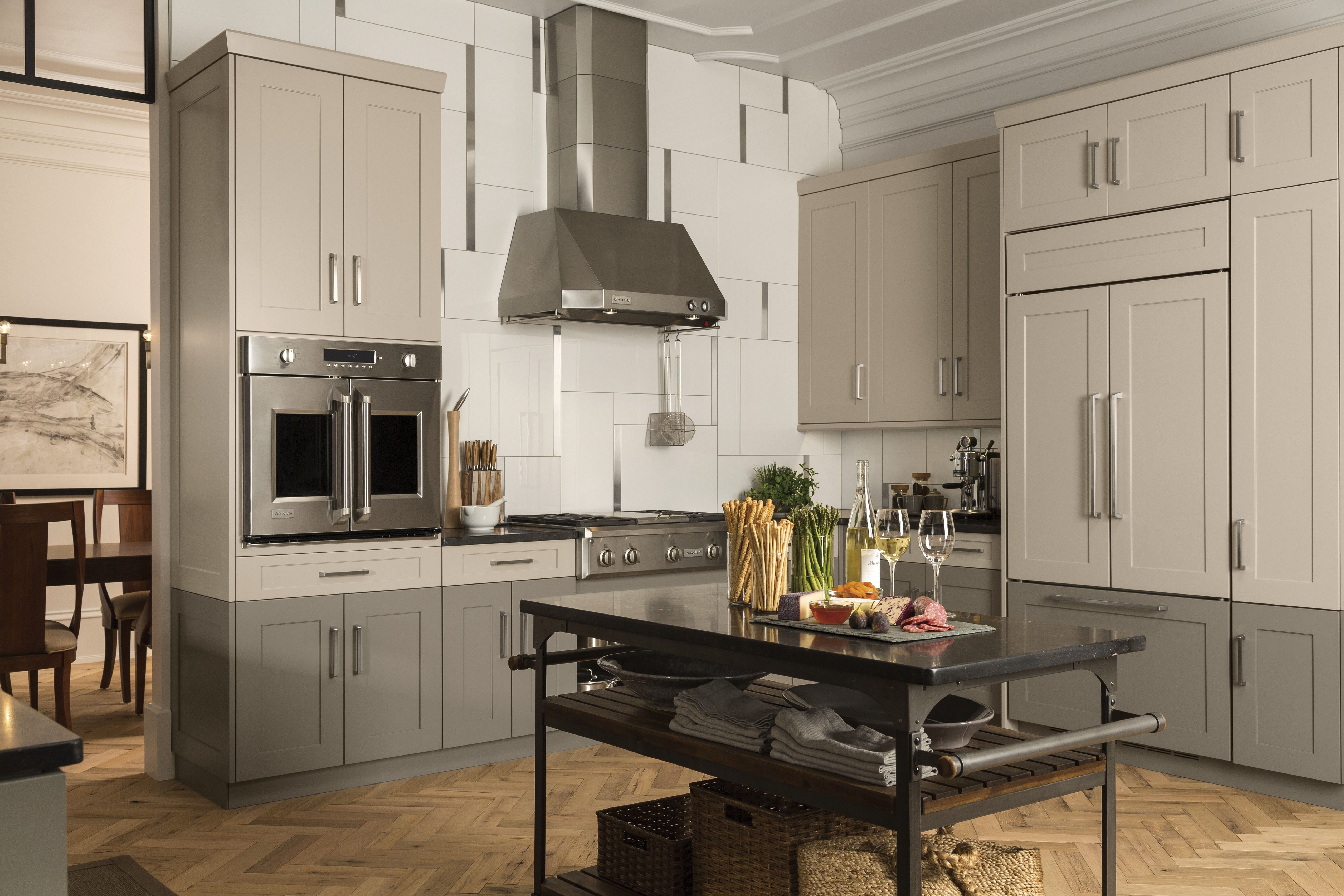 Elevate the look of your kitchen with MONOGRAM appliances