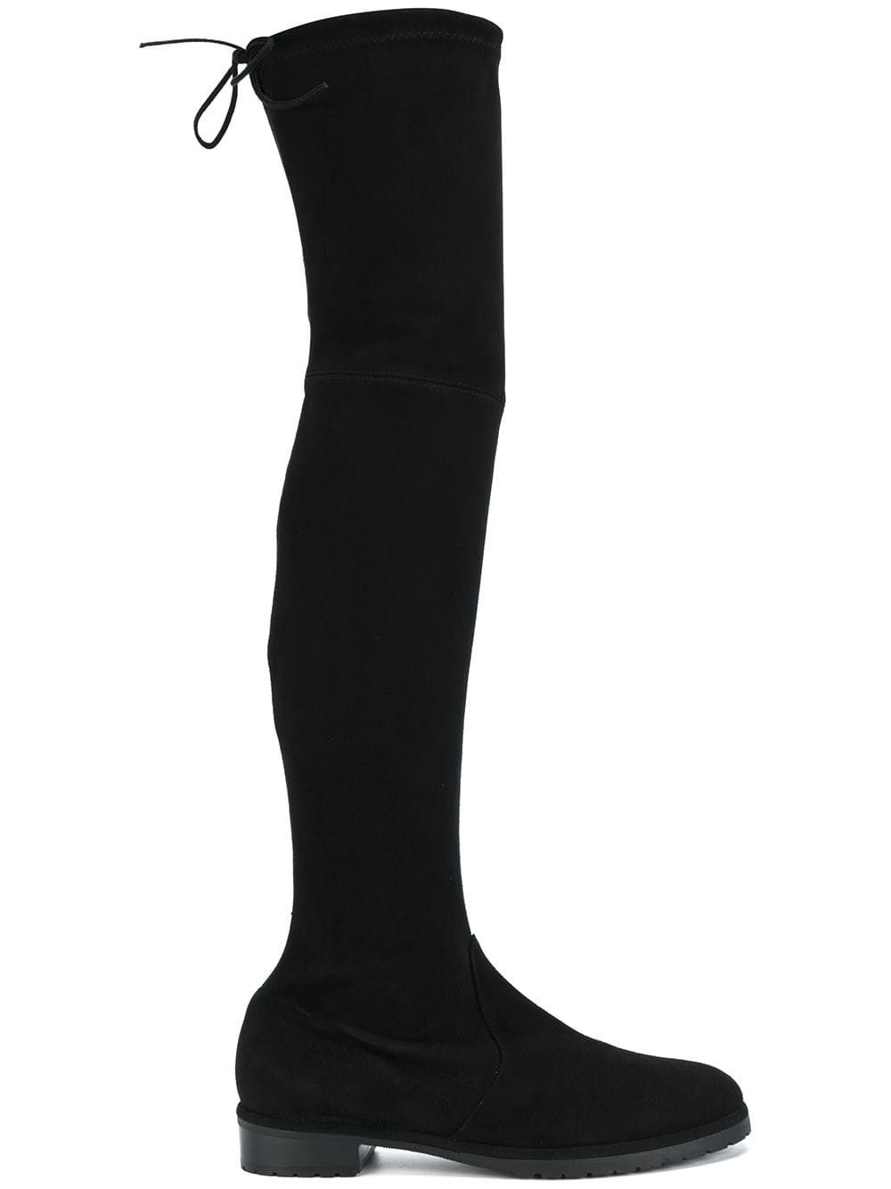 3989ab5a8 Baldinini thigh length boots - Black in 2019 | Products | Thigh ...