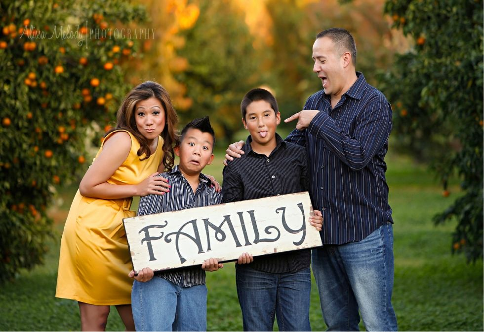 Cool Family Portrait Poses