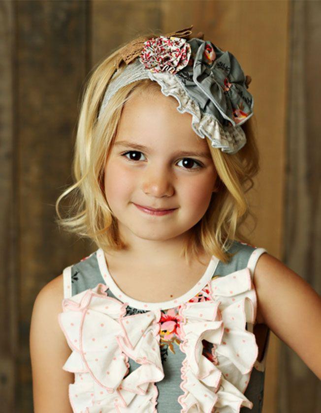 Mustard Pie Sugar Blossom Headband Colette (Girl   Tween)  311ebf74e52