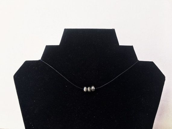 Choker with Pyrite Beads