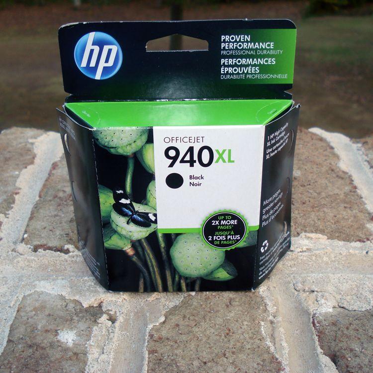 Hewlett packard officejet 940xl printer cartridge black