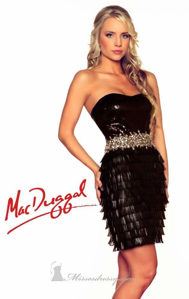Mac Duggal 50095R Dress - $458