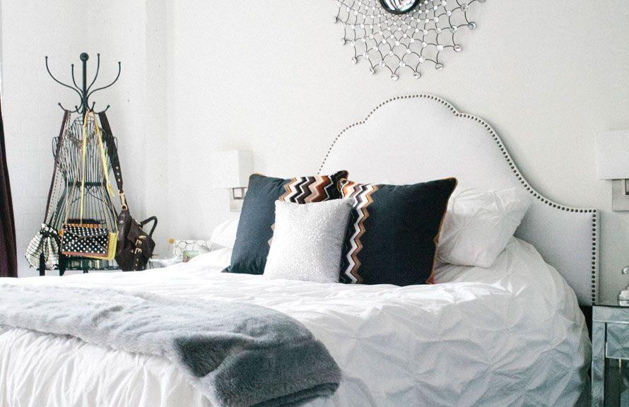 Sara Azani S Washington D C Home Tour Bedrooms Interiors And Pillows