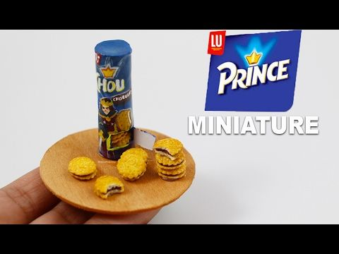 Biscuits Prince LU⎪Fimo et Papier - YouTube