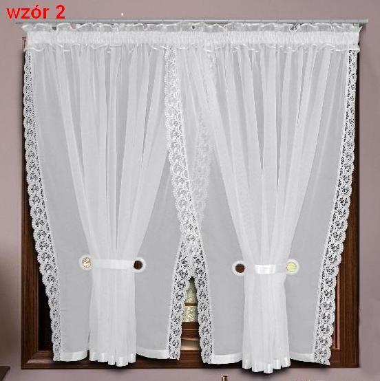 Gotowe Firany Firanki Woal Na Tasmie 150x400 Wzory 5314651291 Oficjalne Archiwum Allegro Curtain Decor Stage Curtains Window Decor