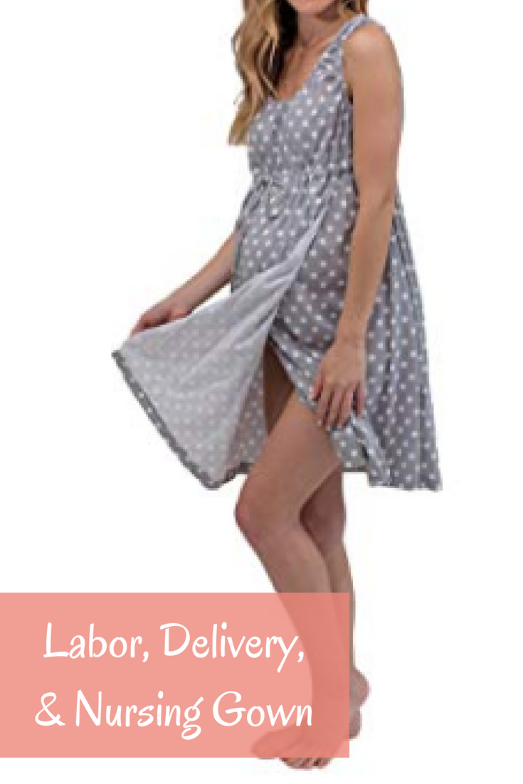 Hospital gowns are so three years ago. Give birth in this super cure ...
