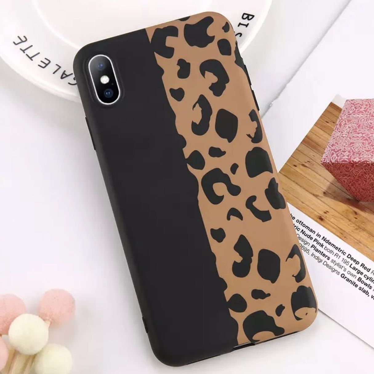 Iphone Xs Case كفر ايفون اكس اس Case Cheetah Print Iphone