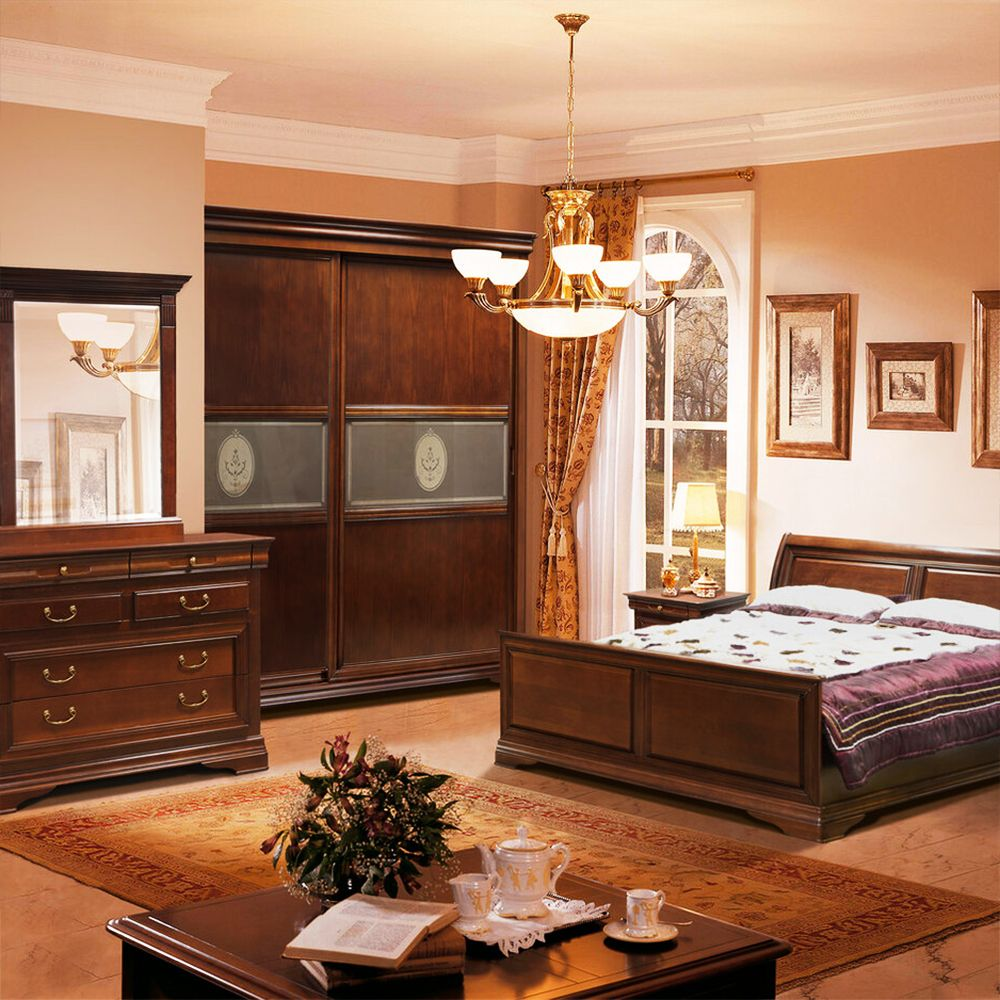 11 Schlafzimmer set massivholz