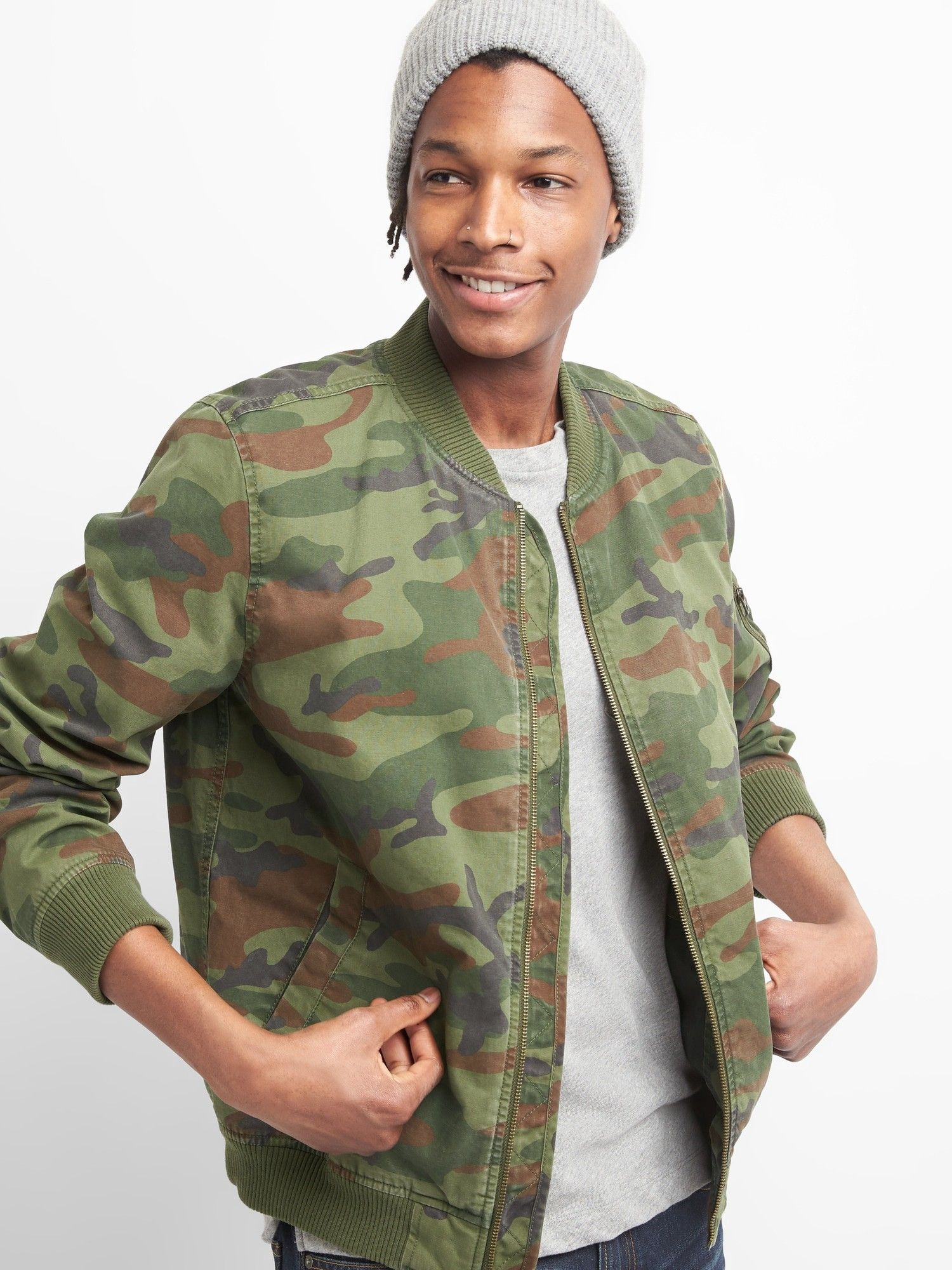 Pin By M S On Camo Military Jacket Bomber Jacket Jackets [ 2000 x 1500 Pixel ]