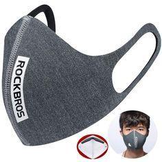 Photo of ROCKBROS Cycling Ear Mounted Masks Motorcycle Running Anti Haze PM2.5 Bicycle Ma…