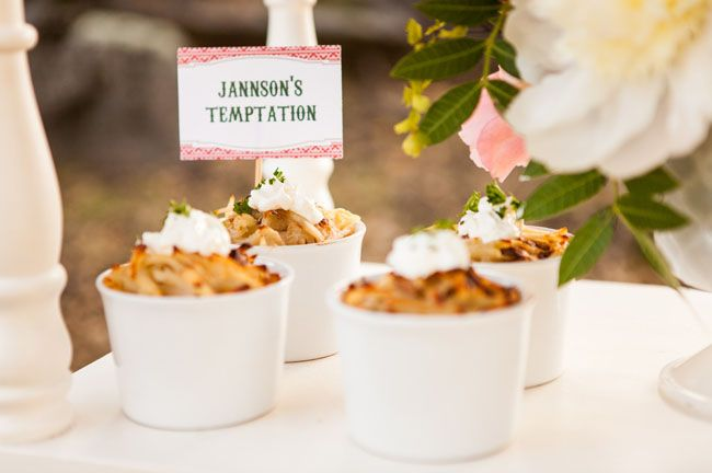Christimas Wedding Inspiration | dessert
