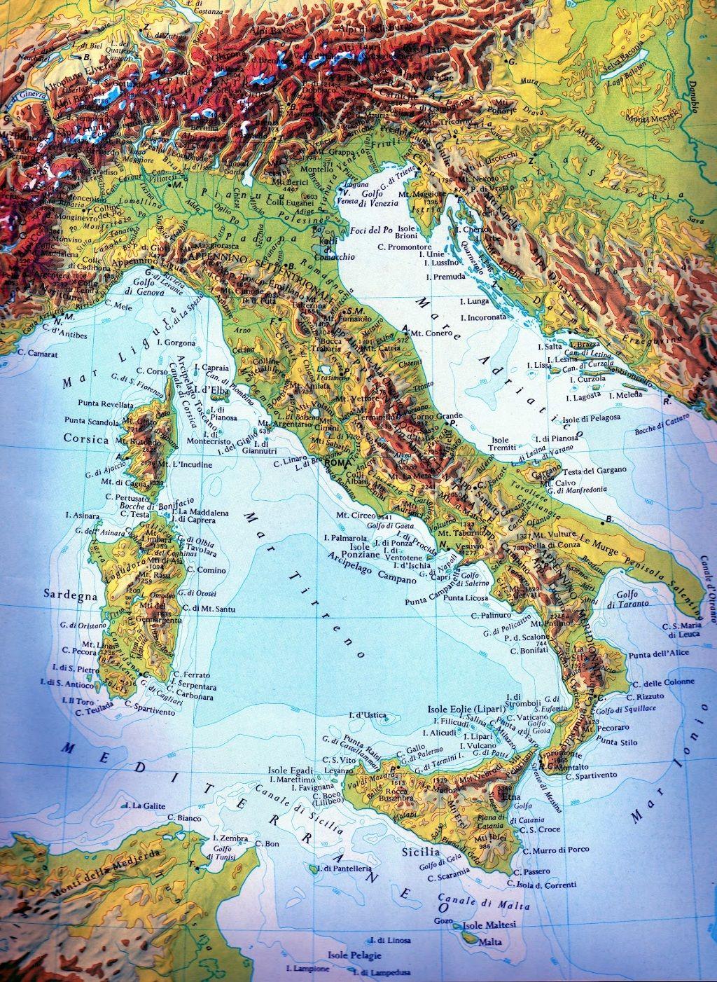 Google Cartina Geografica Italia.Cartine Geografiche Dell Italia Cerca Con Google Italia