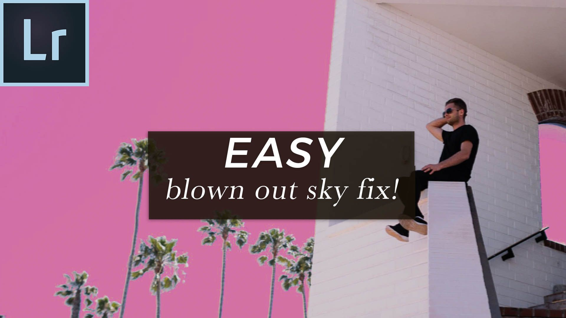 How to fix a blown out sky in lightroom