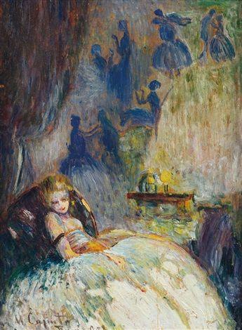 Ulisse Caputo - Riposo 1908