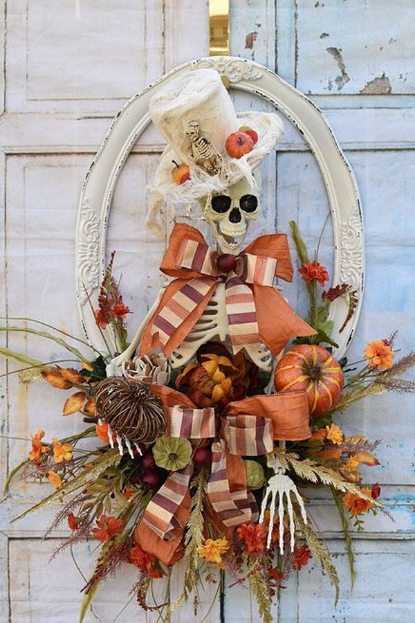 October 2018 Customer Wreaths & Centerpieces #halloweenwreaths