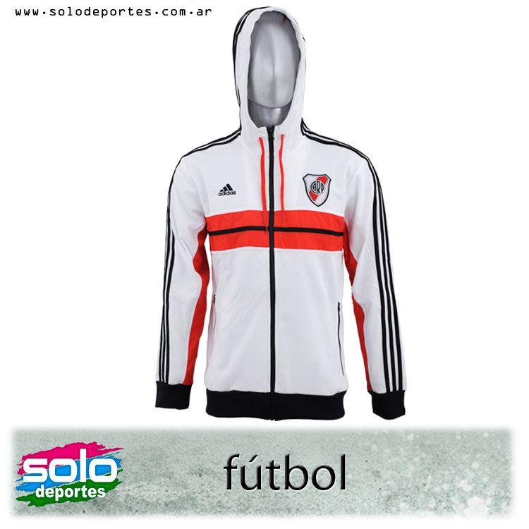 Campera River Plate Anthem Blanco/Rojo/Negro  Marca: Adidas 100020Z23908001   $ 599,00 (U$S 107,34)