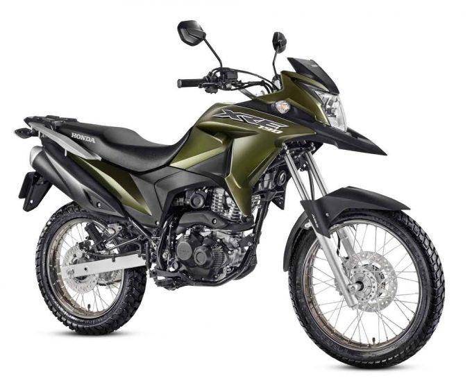 Nueva Honda Xre 190 Lista Para La Ciudad Naves 4 4 Motos Honda Honda Choper Motos