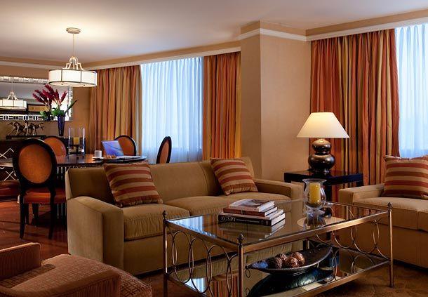 Presidential Suite at the Dallas Renaissance Hotel. #dallashotels #renhotels