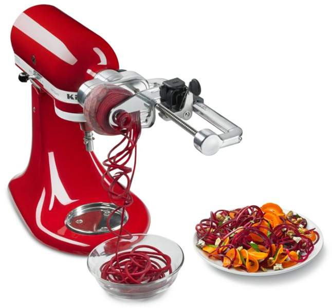 Kitchenaid 7 Blade Spiralizer Plus With Peel Core And Slice