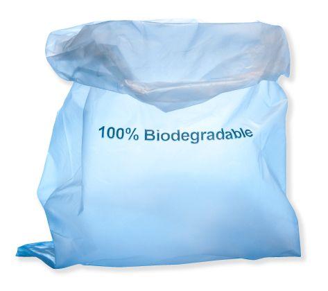 BioBag komposterbar påse av majs finns hos Jordklok.