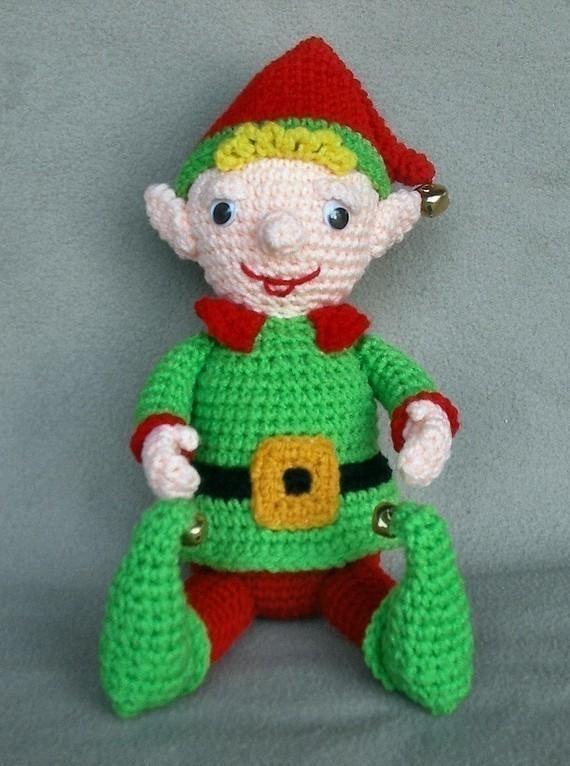 Christmas Elf Crochet Doll   En navidad, Tejido y Navidad