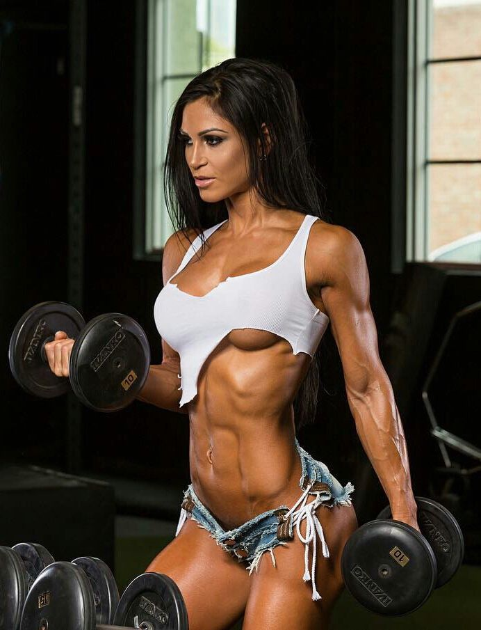 Gym Babe Fitness Women Muscle Models Female Vipergirls To 1