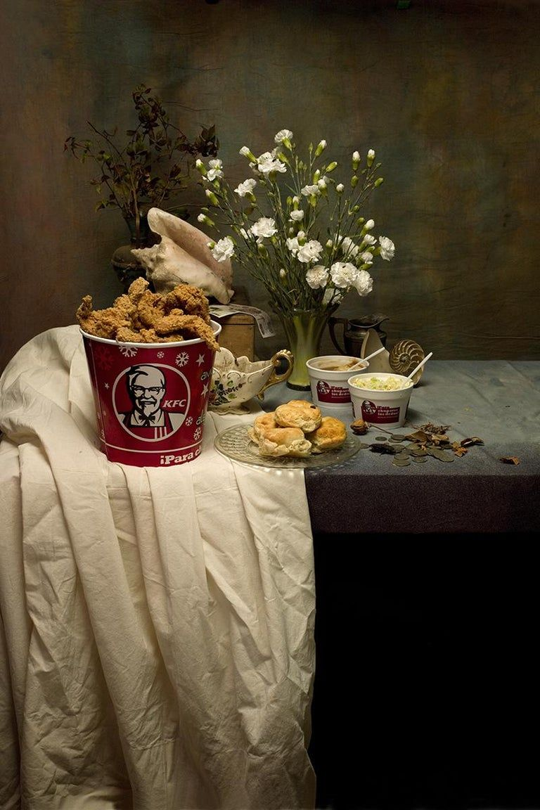 Aaron Álamo - KFC I - Photography, Still Life, Baroque, Contemporary, Art, Food, Aaron Alamo