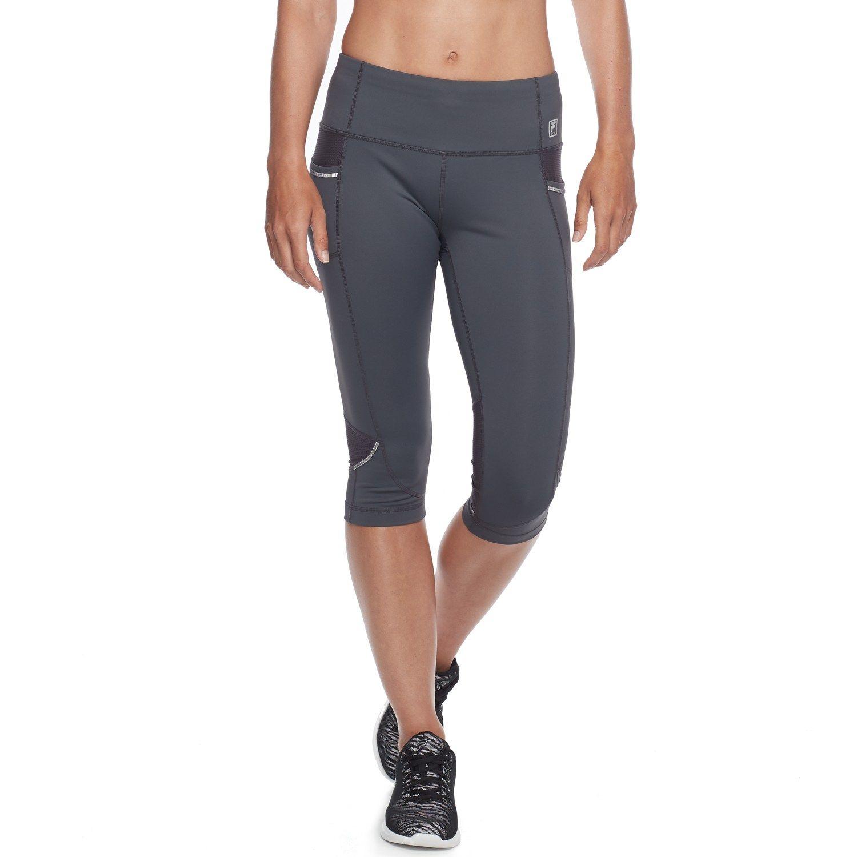 202abb03f81c5 Women's FILA SPORT? Mesh Inset Capri Leggings | Shopping