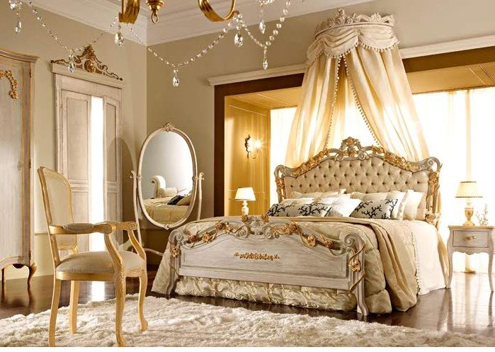 French Mansion Interior Decor | ... Awesome French Bedroom ...