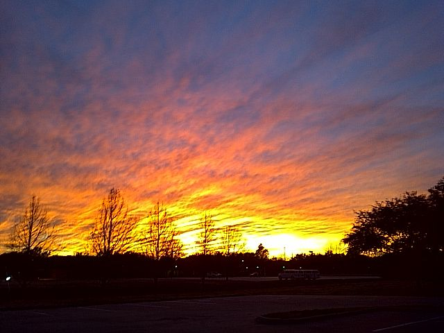 Stunning Sunset...  Photographed by Janie Shipman