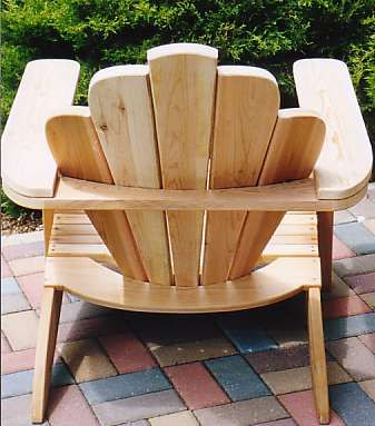 a quality pattern plans to build beautiful Adirondack chairs Just