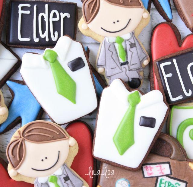 Jednostavno uređene kolačići za LDS (Mormoni) Elder misijskoj ~ Tutorial
