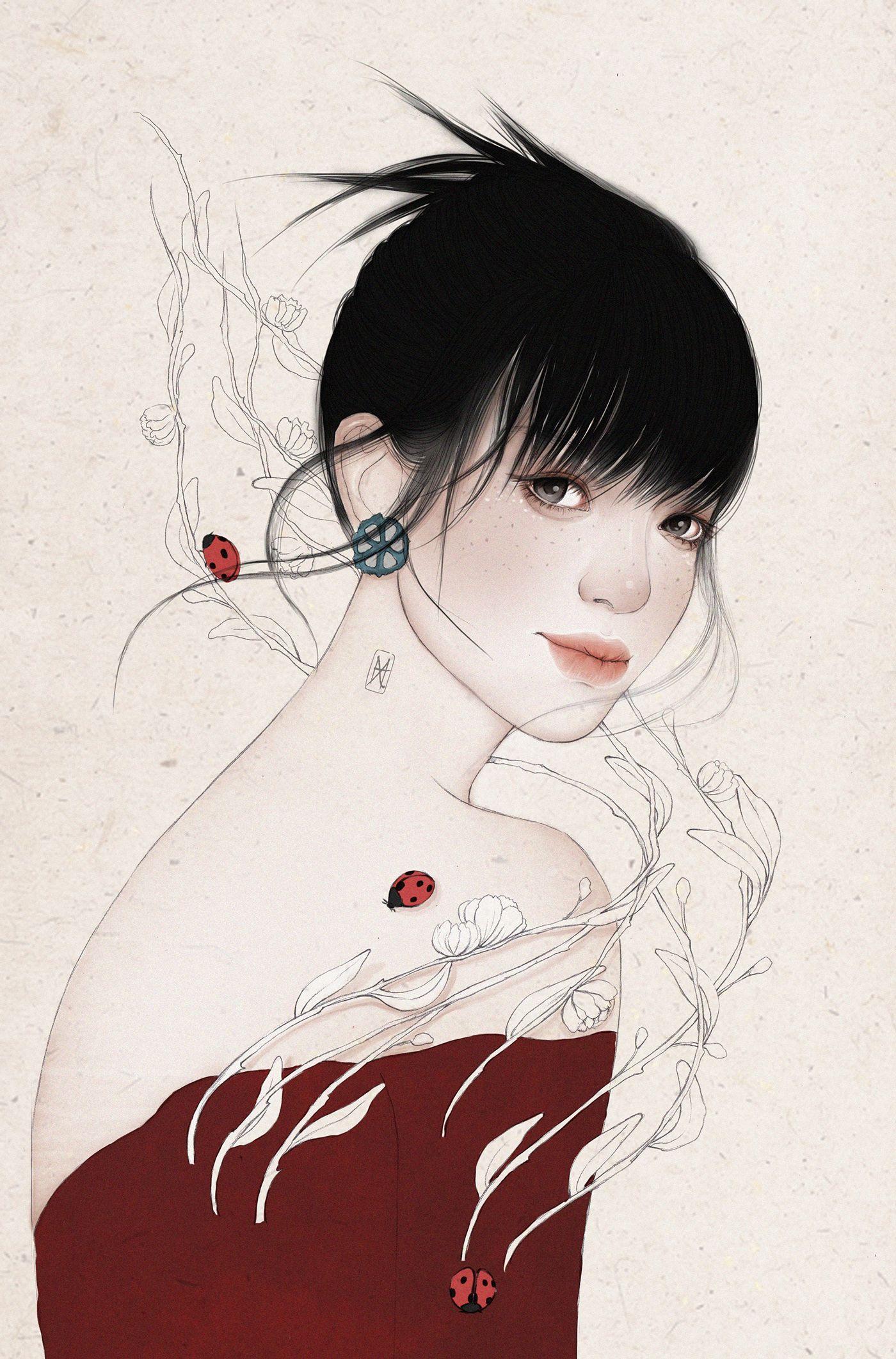 济南插画师helen Xu 作品欣赏 Helen Xu 是来自中国济南的自由插画家
