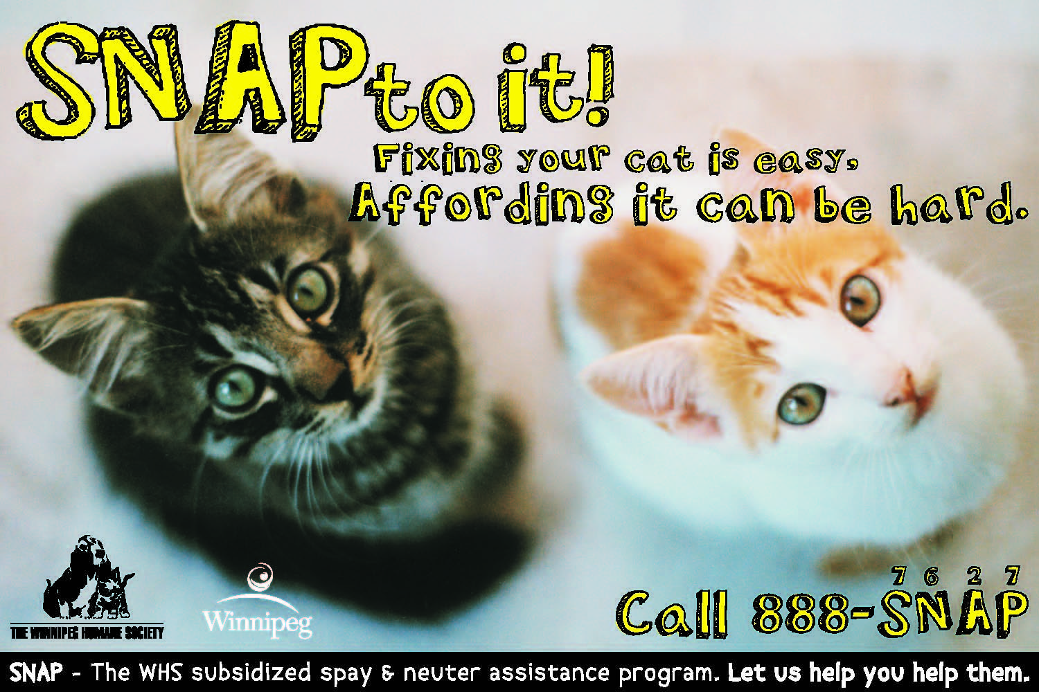 Spay and Neuter Assistance (SNAP) The Winnipeg Humane