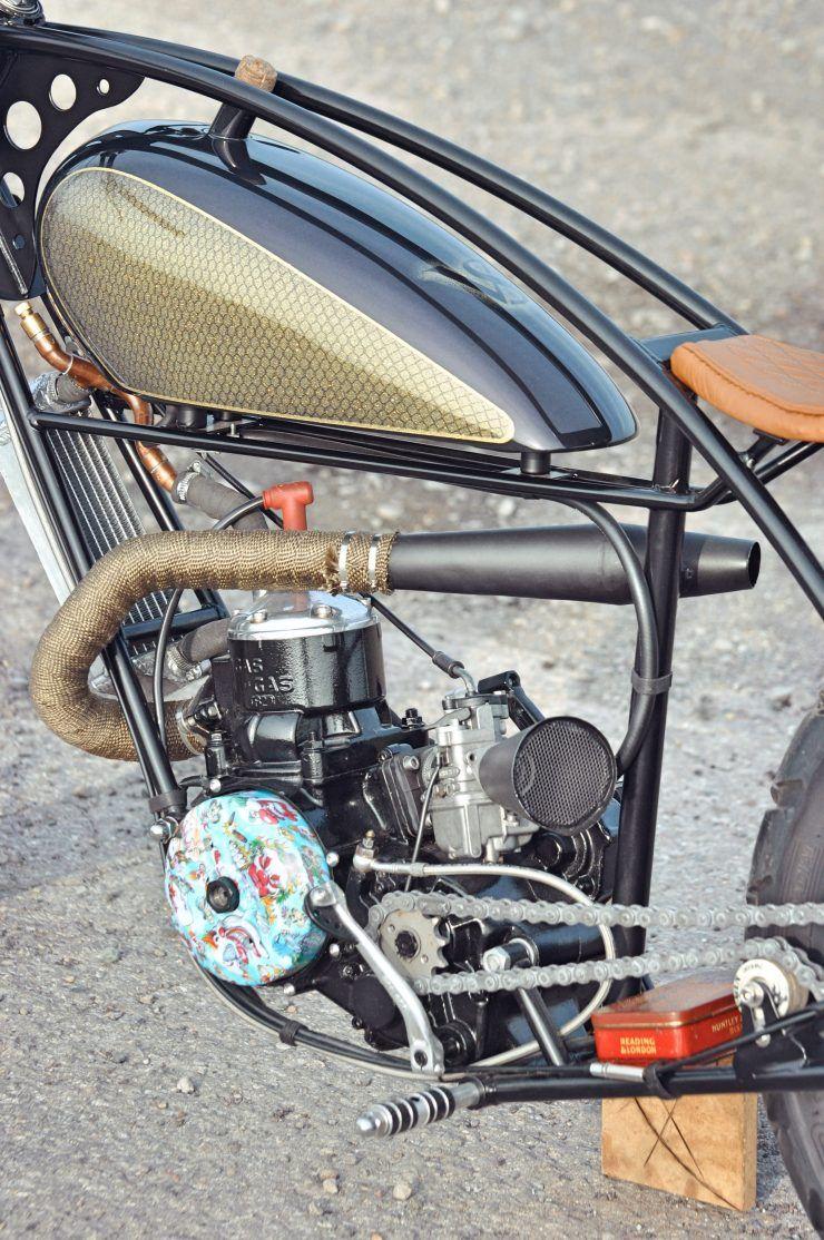 Valespeed Motorcycles - 28 Days Later Custom GasGas   Bikes