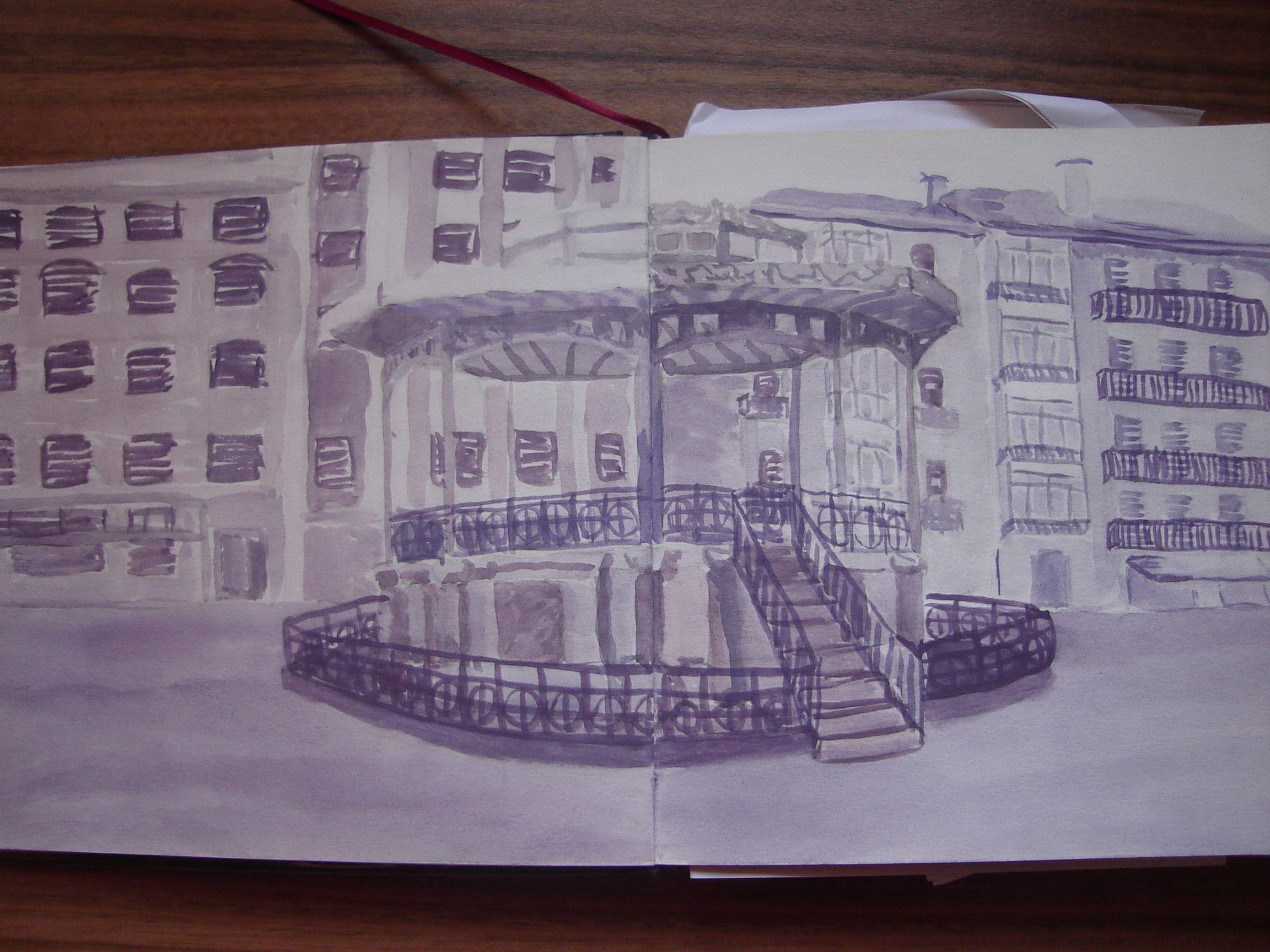Plaza del Ensanche de Irun