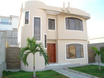 Frente de casa modernas peque as fachadas de casas for Arquitectura moderna casas pequenas