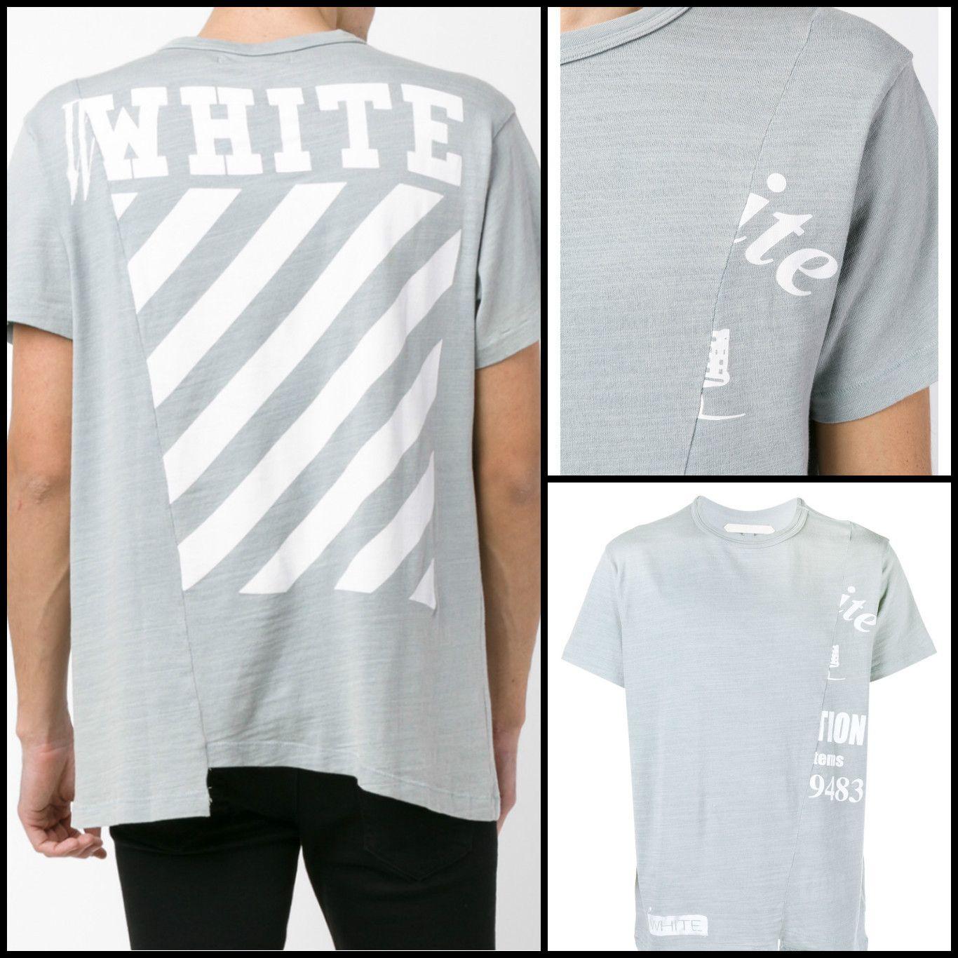BUYMA.com  Off-White 2016SS 切り替えデザインTシャツ 追跡番号付で発送(19861210) 5c3e9ff8db66