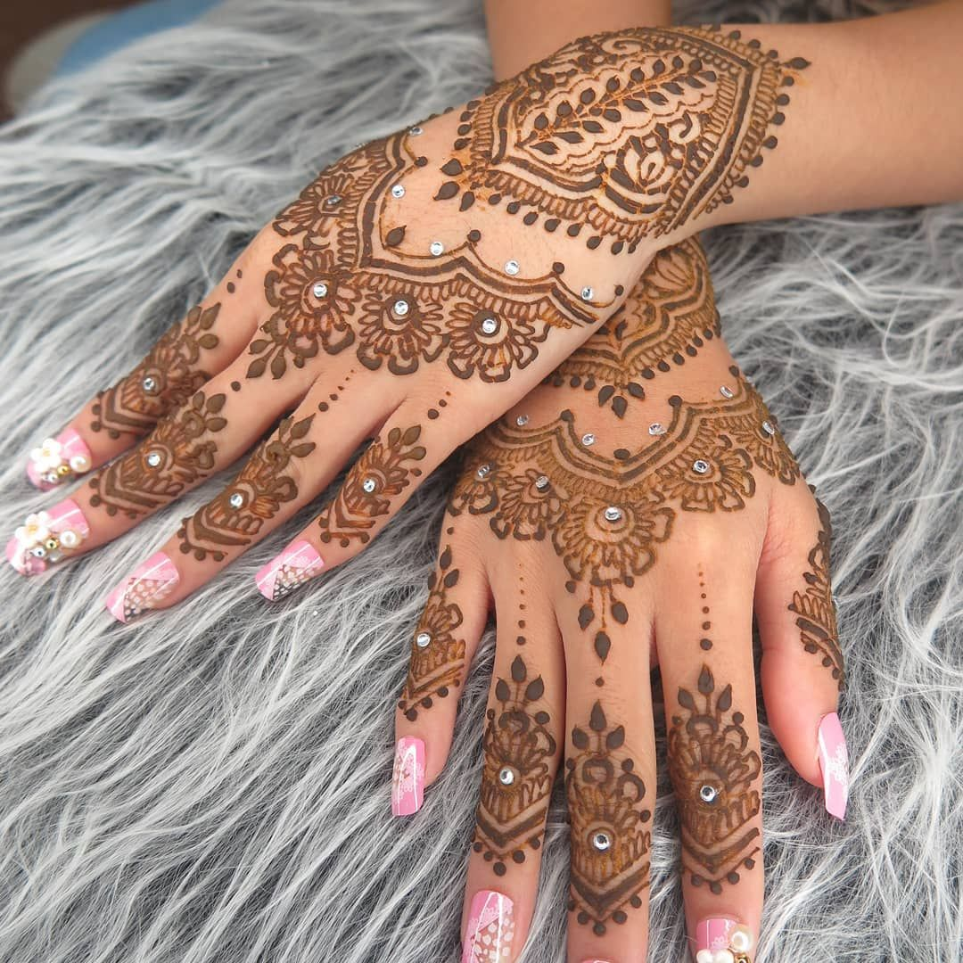 Gambar Henna Pengantin 2018 Balehenna