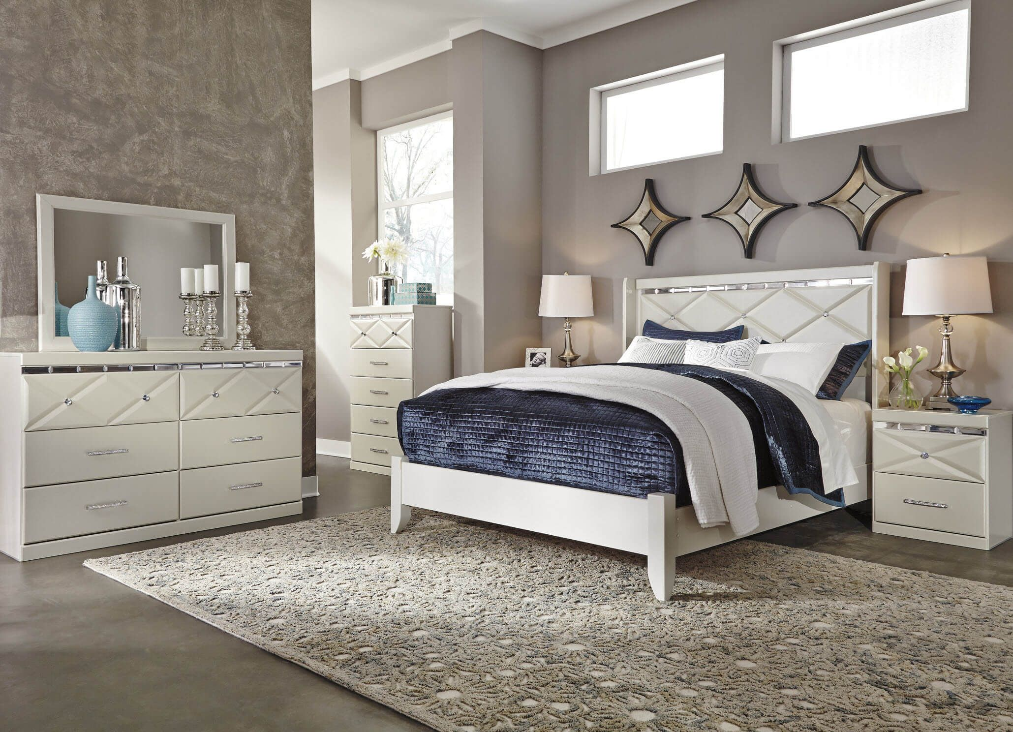 Ashley Dreamer Bedroom Set Bedroom Set Bedroom Sets Queen Ashley Furniture Bedroom